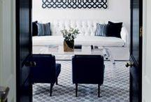 Black + white / Design and decor