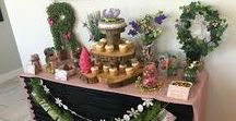 Woodland Fairy Party / Fairies, elves, woodland creatures, butterflies, and fun