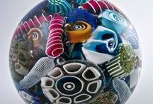 paperweights / Little, collectable gems made of glass. / by Artful Home