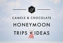 Honeymoon Trips + Ideas / From the Caribbean to Hawaii to the South Pacific and everywhere in between, here are the best, most romantic honeymoon spots to help you with your destination honeymoon planning