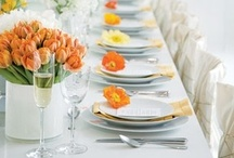Entertaining: Tablescapes / by Leigh Sidell