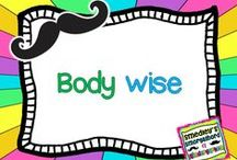 Body Wise / Exercise, clothes, health / by The Kindergarten Smorgasboard