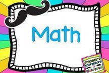 Math / by The Kindergarten Smorgasboard