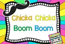 chicka chicka boom boom / by The Kindergarten Smorgasboard