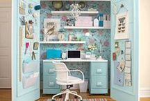 HOME: hobby room & office / by Maria Jensen