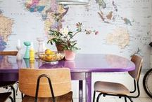 HOME insp.: dining room / by Maria Jensen