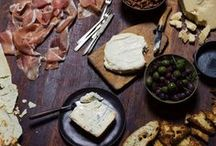 F: charcuterie board & cheese table / by Maria Jensen