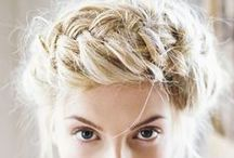STYLE inspiration: hair: updo / by Maria Jensen