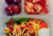 Lunch box ideas and notes