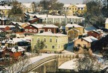 Winter in Finland/ Зима в Финляндии