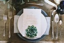 Tablescapes + Styling / Table decor, settings, and styling