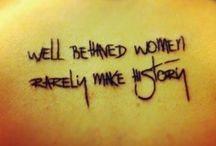 Quote tattoos / by Amanda Barrett
