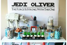 Starwars party / Can't believe he will be turning 5! / by Alexandra Hutson