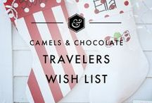 Traveler's Wishlist / All the products and gear that every traveler dreams of, including travel must haves, gift ideas for travelers, travel products and travel gear to make your travels easier, travel fashion and accessories and more.