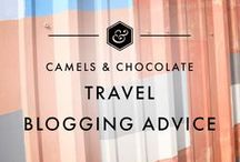 Travel Blogging Advice / It can seem overwhelming when you first start travel blogging, but with the right blogging tips - you will be killing it in no-time! Sharing my travel blogging tips from over ten years (!) of travel blogging, and sharing other top blogging tips from other travel bloggers