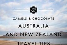 Australia + New Zealand Travel Tips / Tips and inspiration for visiting the land down under and the land of the long white cloud: Australia and New Zealand are incredible! All the best Australia and New Zealand Travel Tips, Travel Itineraries, Travel Inspiration and Travel Tips.