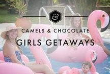 Girls Getaways / All the best tips and tricks for the ultimate girls getaways in the U.S. and beyond including the best accommodation options for a Girls Getaway, all the best places to eat and activities, and Girls Getaway Itineraries to help you plan your Girls Getaway