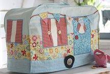 Craft Ideas / A selection of fabulous crafty ideas using fabric - so many great ways to use beautiful fabrics!