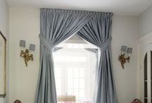 Curtain & Blind Inspiration / A board full of inspirational curtain and blind ideas...