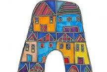 Letters / by Dora Ficher Art