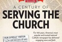 100th Anniversary of Our Sunday Visitor / Help us celebrate 100 years of Our Sunday Visitor. Founded by John F. Noll, then a parish priest in Huntington, Indiana, and later archbishop of the Diocese of Fort Waye-South Bent, OSV's mission has always been, 'To Serve the Church.'
