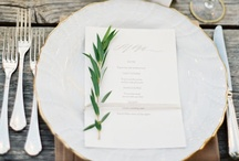 table styling / by Janna Krieger