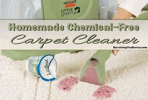 {Natural Cleaning} / • Replacing Toxic Cleaning Solutions With Natural & Homemade Ones • / by Kara Autrey