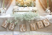 October 2014: Decor / Decorations and ideas for the wedding  / by Liz Jelnicky