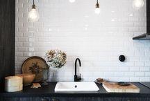 { kitchen - rustic industrial love }