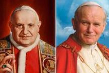 Two Popes, Two Saints / Commemorating and celebrating the canonizations of Pope John Paul II and Pope John XXIII.  / by Our Sunday Visitor Catholic