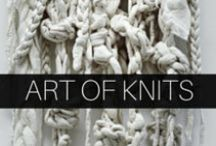 Inspiration: Art of Knits / A selection of artistic knits that inspire us at DeNada.