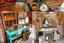 Craft Fair / A collection of ideas for booth set ups, some of our very own set ups, and helpful tips for craft fairs.