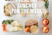 meal prep, lunches, & shakes. / by Holly Swick