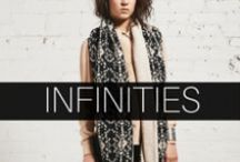 DeNada: Infinities / A collection of knit alpaca infinity scarves for women and men. All styles are handcrafted in Peru with a soft alpaca blend. Available online: www.denadadesign.com