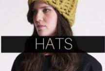 DeNada: Hats / A collection of knit alpaca hats for women and men. All styles are handcrafted in Peru with a soft alpaca blend. Available online: www.denadadesign.com