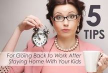 Resume Help for long term SAHM's who are ready to go back to work / I've been a Stay at Home mom since I was 7 months pregnant. It's been almost 6 years later. My daughter is 5 yrs old and in Kindergarten. I am working Full Time now... exactly where I wanted to me. I love my JOB!! It's one of the greatest places to work,