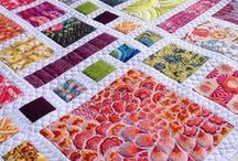 Quilting and Patchwork Ideas / Lots of crafty ideas for quilting and patchwork