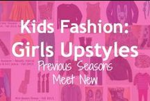 Kids Fashion:  Girl's Upstyles / Since kid's styles don't change too drastically each season, its easy, cost effective, and environmentally friendly to buy at least a portion of your child's wardrobe on resale.  Here are ideas on how to mix gently used, secondhand pieces with new clothing to get terrific looks that are 100% on trend and in style.