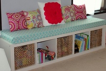 For the Home & Craft/Decorating Ideas / by Jessica Catherine Rose