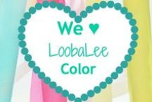 LoobaLee:  Color! / The original teal in kid's clothing resale!  Celebrating, motivating, inspiring LoobaLee logo colors.  Just looking at these remind of the what and why of LoobaLee.