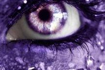 Purple / Color-coded. Have fun!