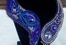 Pandora / My Shibori ribbon jewelry