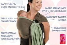 BABY - babywearing / If evolution really works, how come mothers only have two hands?  / by Les Tutt