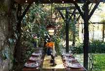 Outdoor Spaces / by Sarah Gregory