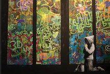 SERIES Wake - Banksy - Research / Creative R&D for the Original Dramatic Series, WAKE by Shawna Lynn Cox