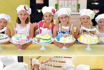 birthday parties / birthday party ideas for boys and girls. Themes, food, decorations and projects / by Julie Meyers Pron