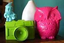 owls / Love owls? Me too. Owl decor, decoration, crafts and activities. Inspired by Chi Omega