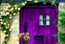 Architecture - Doors / With these doors, can you imagine what lies beyond? / by Nomadic Decorator