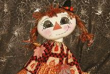 Cloth dolls I create / Paula's Prim Dolly Doodles
