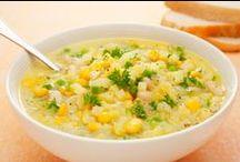 Sopas para el frío / Consiéntete con una de estas deliciosas sopas o cremas con el sabor hogareño que sólo tu sazón le puede dar. http://www.kiwilimon.com/recetas